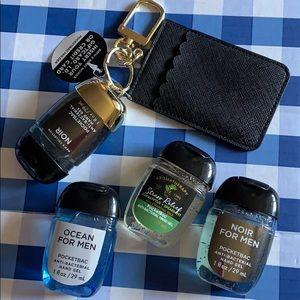 Pocketbac Hand Sanitizers + Holder